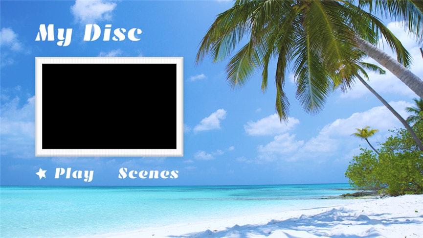 DVDメニューテンプレート:旅行3