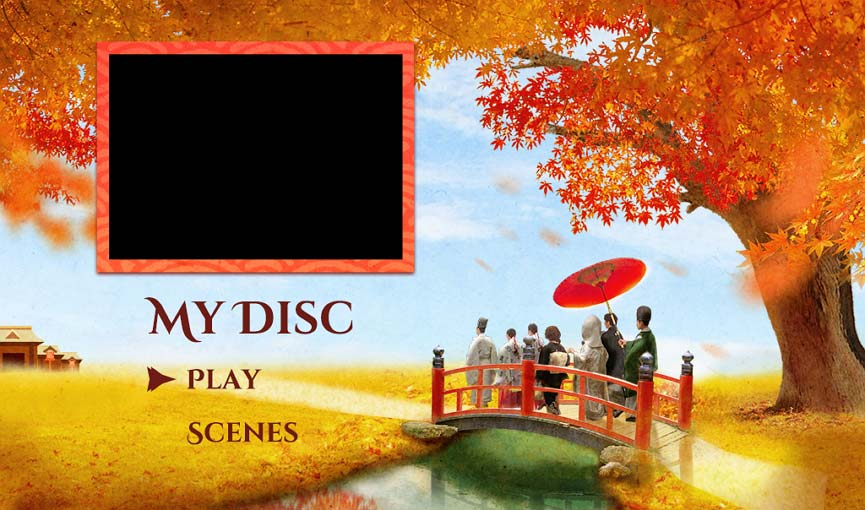DVDメニューテンプレート:結婚式4